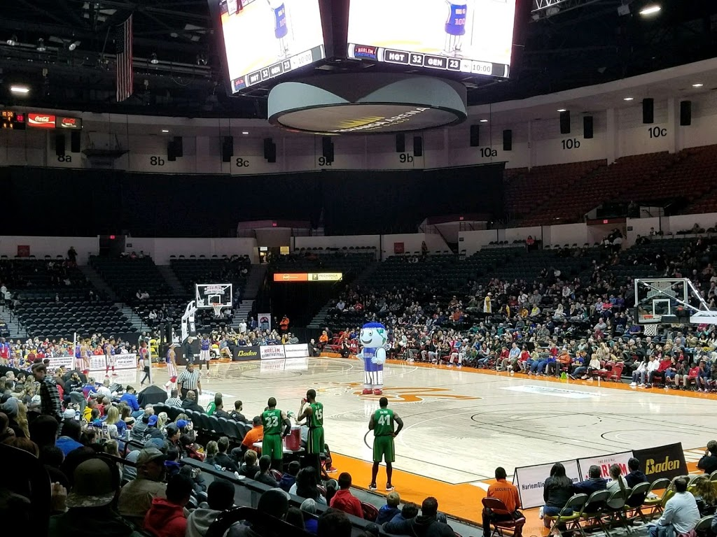Checking the Harlem Globetrotters off our family bucket list!